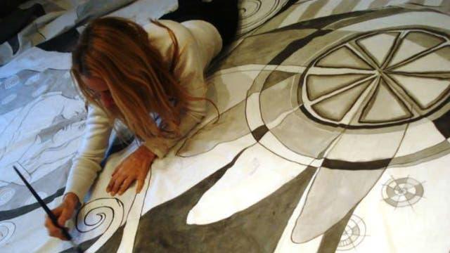 Cuando renunció a su trabajo a los 33 años comenzó a estudiar en el taller del reconocido pintor Guillermo Roux