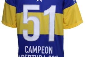 Boca festejó el título con esta camiseta