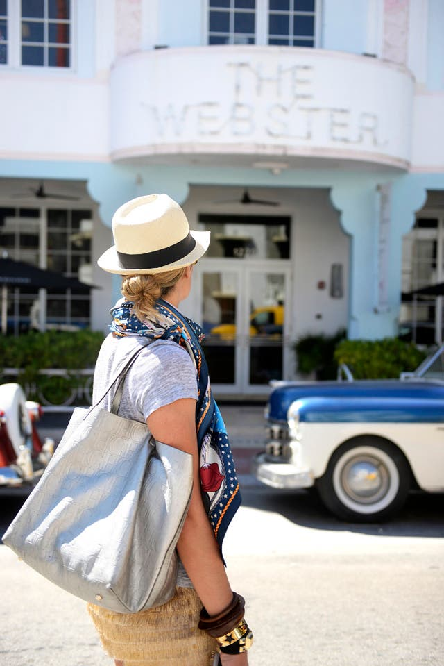 The Webstern hotel ícono de la arquitectura de Miami