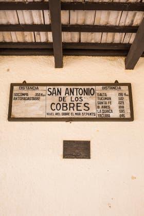 La estación de San Antonio de los Cobres. Foto: Sebastián Pani