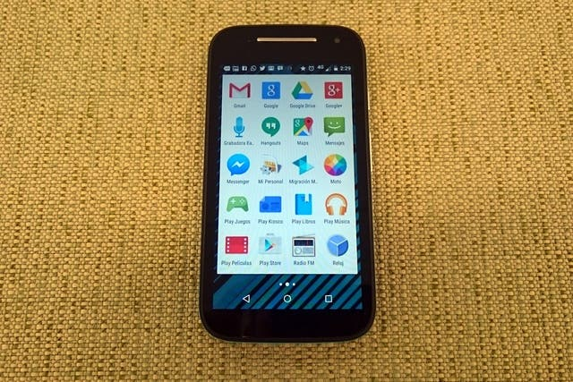 El Lenovo Moto E 4G LTE de segunda generación