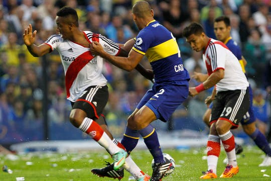 River le ganó a Boca 2 a 1 y es escolta en el torneo Final.Volvió a ganar en la Bombonera después de 10 años. Foto: LA NACION / Mauro Alfieri