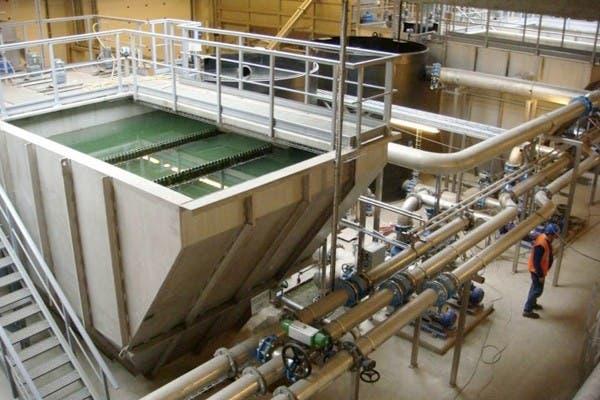 Uno de los filtros que forman parte del sistema de refrigeración por agua que se usa en los edificios que almacenan los servidores de Google en California