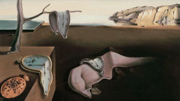 Como en el cuadro surrealista de Dalí, en internet el paso del tiempo es misterioso