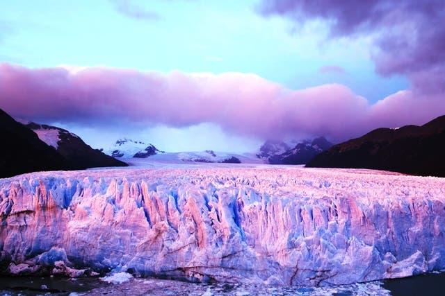Glaciar Perito Moreno en todo su esplendor