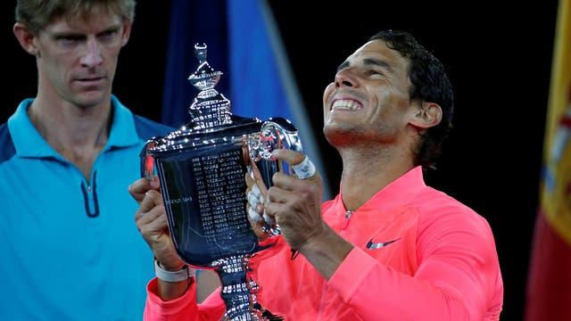 En lo mas alto, Nadal se consagro campeón del US. Open