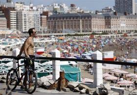 Mar del Plata, con un millón de personas