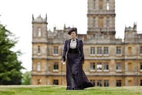 UNA DAMA. Maggie Smith, uno de los personajes centrales de la serie británica Downton Abbey