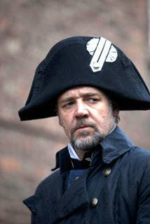 Russell Crowe, el villano de Los Miserables. Foto: USA Today
