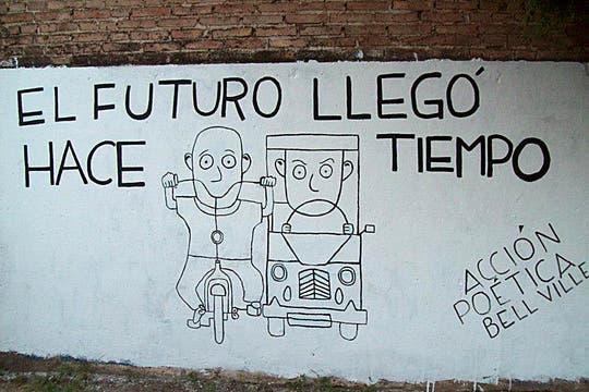Acción Poética Bell Ville. Foto: Facebook