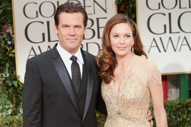 La feliz pareja en los Globos de Oro, años atrás