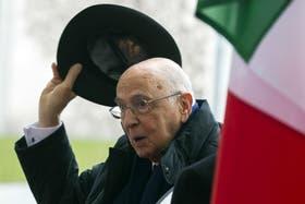 Giorgio Napolitano supo ser un moderador y conciliador en los últimos siete años al frente del Gobierno