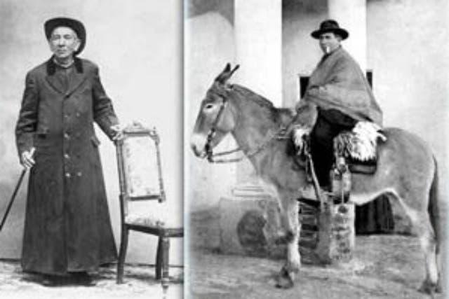 Se ordenó sacerdote con 26 años en Córdoba y de inmediato se volcó en la atención a los enfermos de cólera