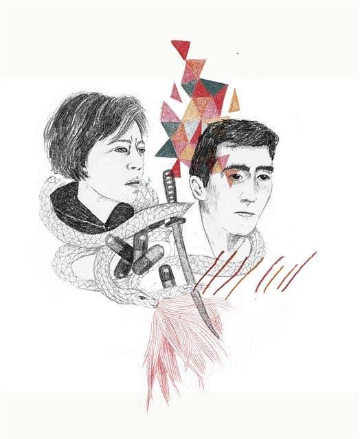 Alejandra Pizarnik y Yukio Mishima se suicidaron