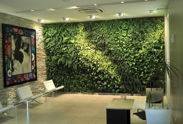 Jardines verticales otro verde en la pared conexi n brando for Jardines con plantas artificiales