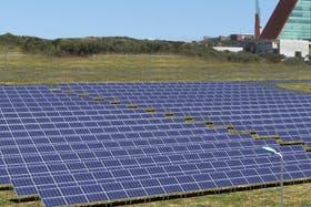 El parque posee 4080 paneles solares