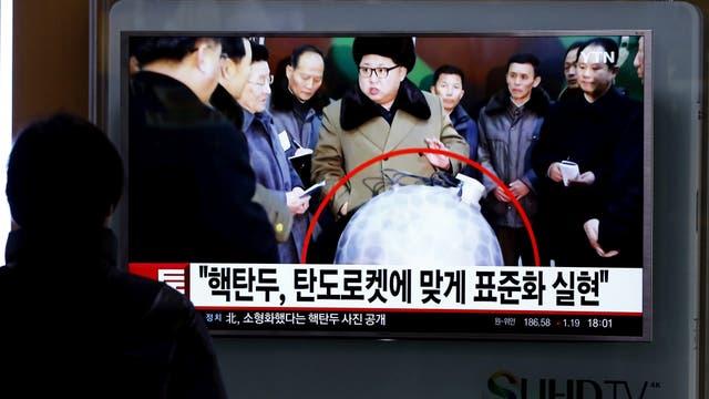 El pueblo de Corea del Norte, frente al aviso del líder