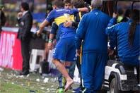 Boca-River: la mala suerte de Gago, otra vez lesionado en el superclásico