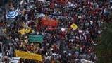 """Miles protestan en Brasil contra """"golpe"""" de Temer"""