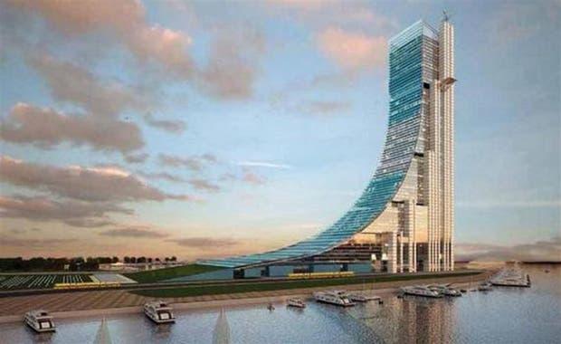 Render de lo que sería la torre más alta de América latina