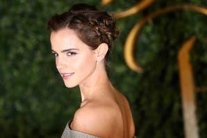 """Emma Watson con un vestido sustentable en la alfombra roja de """"La Bella y la Bestia"""""""