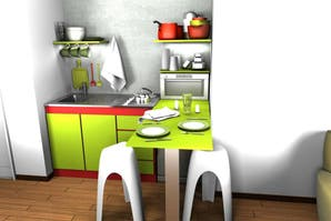Claves para decorar una kitchenette