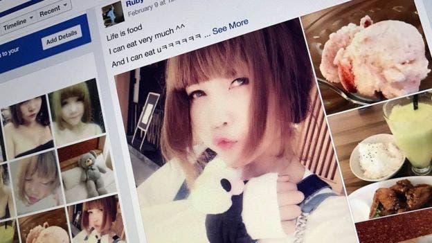 Doan Thi Houng escribía en Facebook como Ruby Ruby