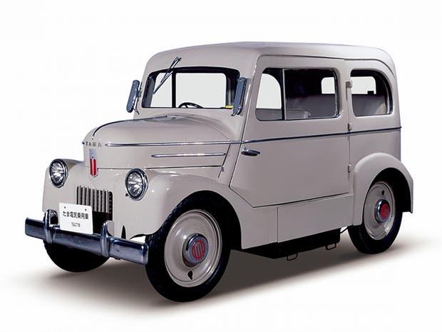 Tama 1947, el primer vehículo eléctrico de Nissan