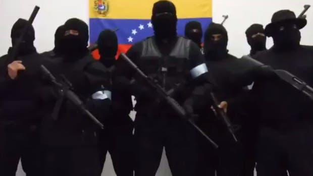 """Más militares rebeldes se unen a la """"Operación David"""" contra Nicolás Maduro"""