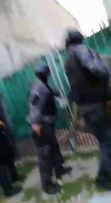 Uno de los 30 operativos de esta madrugada para detener los barras de Independiente