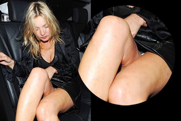 ¡Hasta Kate Moss tiene un poquito de celulitis!. Foto: Gentileza cellebritycellulite.co.uk
