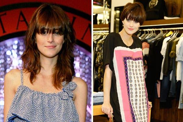 Las celebrities de acá también sorprenden. ¿Qué tal el estilo de Mónica Antonópulos con el pelo corto?. Foto: Archivo