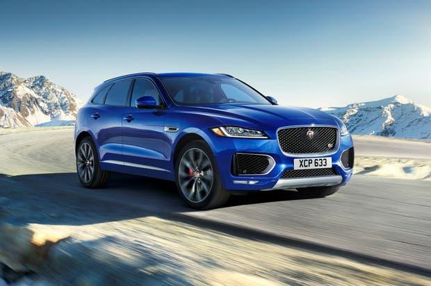 Un SUV con el sello de Jaguar