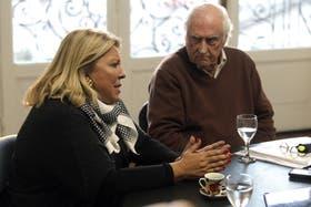 Carrió y Solanas presentaron un amparo conjunto contra la ley del Consejo de la Magistratura