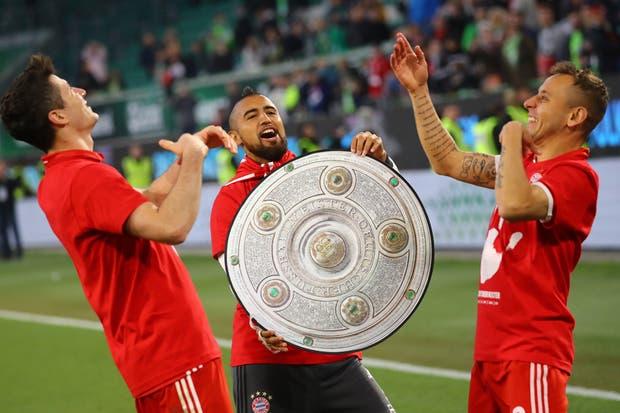 Bayern, nuevamente campeón de la Bundesliga