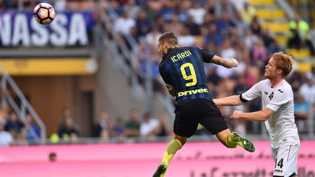 El  Inter empató de local