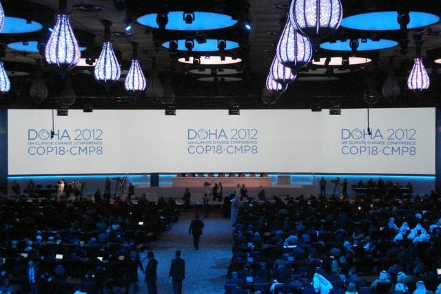 La cumbre de Cambio Climático entró en la semana final de negociaciones en Doha, Qatar