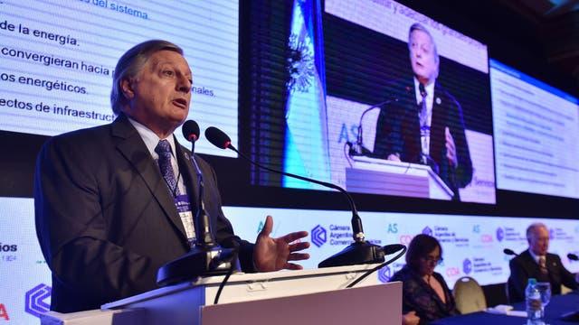 Aranguren, al disertar hoy en el Council of the Americas