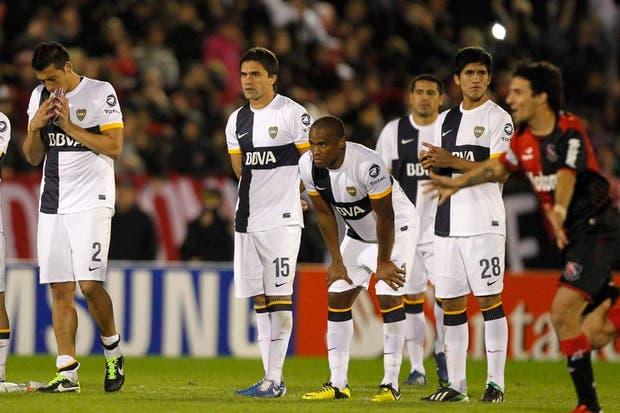 Boca perdió en los penales y Newelll´s sigue adelante en la Copa Libertadores.  Foto:Reuters