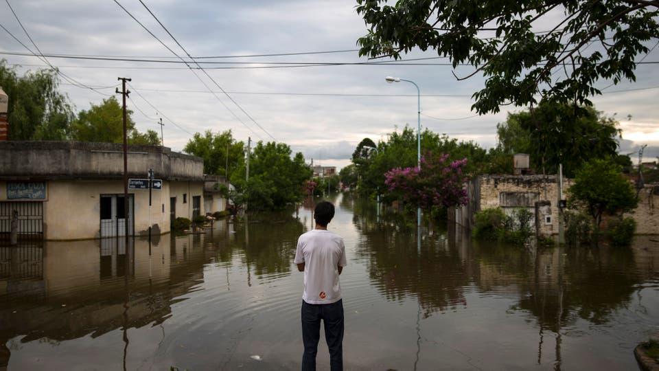 Concordia sufre una de sus peores inundaciones de su historia. Foto: LA NACION / Aníbal Greco