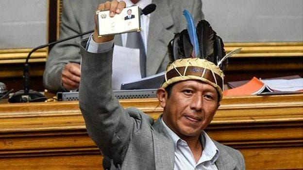 Romel Guzamana en la Asamblea Nacional.