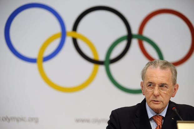 El presidente Comité Olímpico Internacional (COI) Jacqes Rogge