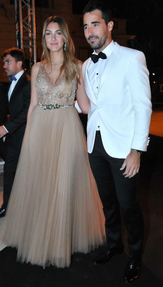 Nacho Viale junto a su novia, Lucía Pedraza