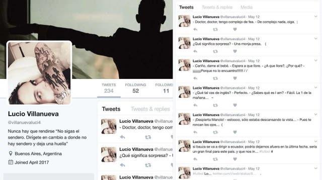 El falso perfil de Lucio Villanueva