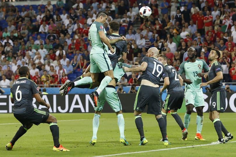 El salto de Cristiano Ronaldo