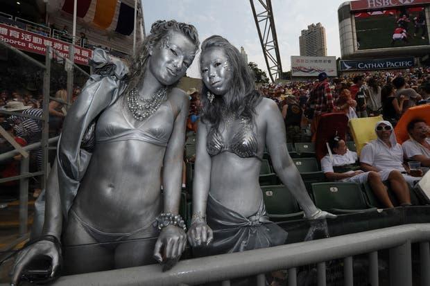 No las veo yendo así a la popu de Chaca.  Foto:AFP