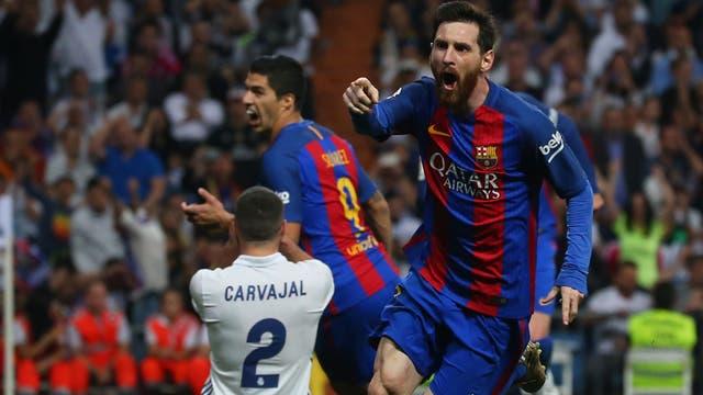 Messi y un gol sobre la hora.