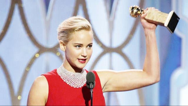 Jennifer Lawrence, mejor actriz en comedia