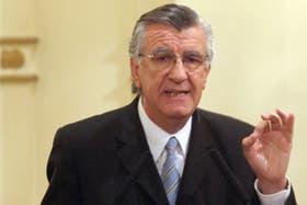 El gobernador de San Juan, el kirchnerista José Luis Gioja, criticó duro a los ambientalistas de Famatina