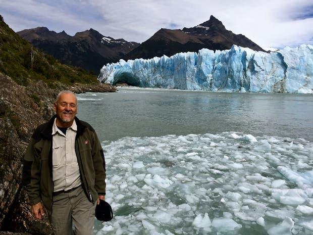 El glaciólogo Pedro Skvarca